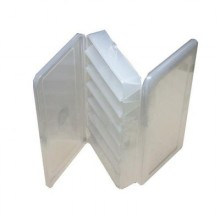 Коробка для воблеров и балансиров ВБ-1 2-х сторонняя (7+7 отделений) (190х85х35мм)