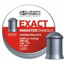 Пули пневматические EXACT Monster Diabolo 4,5 мм 0,87 грамма (400 шт.)  4,5 мм