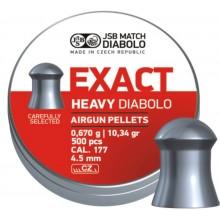 Пули пневматические EXACT Monster Diabolo 4,5 мм 0,67 грамма (500 шт.)