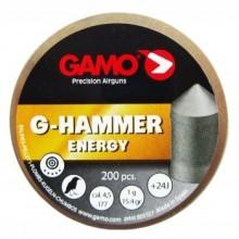 Пули пневматические GAMO G-Hammer 4,5мм 1,0г (200шт)