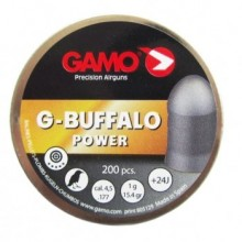 Пули пневматические GAMO G-Buffalo 4,5мм 1,0г (200шт)