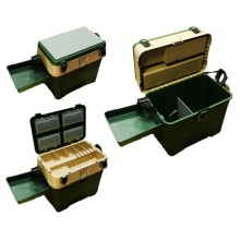 Ящик для зимней рыбалки A-elita A-Box (с карманом, столиком и термометром)