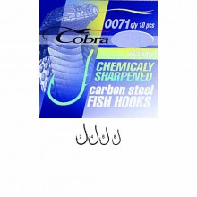 Крючки Cobra OKIAMI сер.0071BZ разм.002