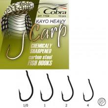 Крючки Cobra CARP KAYO HEAVY сер.1104NSB разм.004