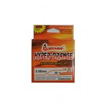 Шнур плетеный Kumyang hyper-orange 30m