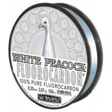 "Леска флюорокарбоновая BALSAX ""White Peacock Fluorocarbon"" 100м"