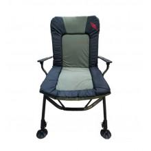 Кресло карповое складное Mifine 55066 с подлокотниками