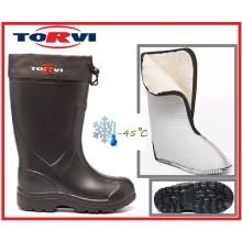 Сапоги зимние TORVI -45С ЭВА  р 40-48