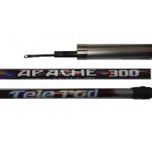 Удилище без колец apache 300 tele rod (3м)