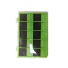 Коробка  двойная для крючков с магнитом