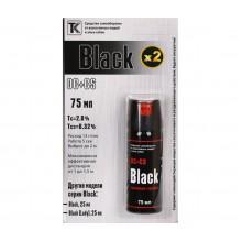 Газовый баллончик Black, 75 мл