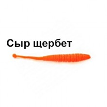 "Мягкая приманка Trout Zone Boll 2,9"" оранжевый сыр щербет"