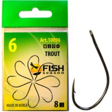 Крючок Fish Season FS Trout Barbless №8