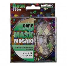 Леска монофильная AKKOI Mask Carp 300m