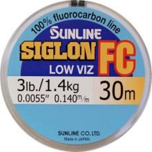 Леска флюорокарбоновая  Sunline Siglon FC 30м