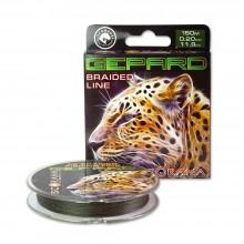 Леска плетеная Scorana Gepard 150м  темно-зеленая
