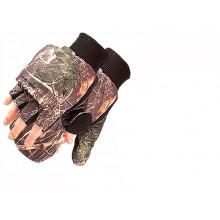 Перчатки-рукавицы камуфляж на липучке