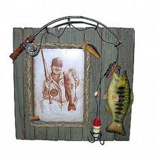 Фоторамка Рыбалка-забор 16080
