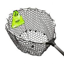 Подсачек Tsuribito Net Trap Tele c силиконовой сеткой, телескопический