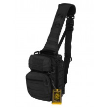 Тактический Рюкзак-Сумка GONGTEX Rover Sling Hexagon Backpack,цвет Черный (Black)
