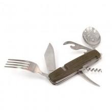 Набор ложка-вилка-нож, в чехле