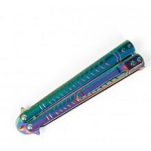 Нож бабочка Ultrafiolet градиент (балисонг)